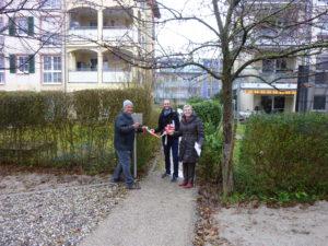 Rieselfeld Innenhof